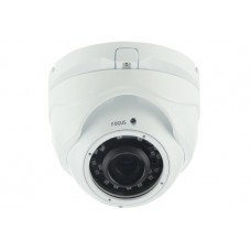 Motorized Zoom 2.8-8mm IR Dome Camera 2MP White Case
